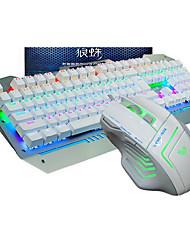 Недорогие -Проводной USB Клавиатура и мышьForWindows 2000/XP/Vista/7/Mac OS