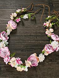 cheap -Fabric Wreaths Headpiece Wedding Party Elegant Classical Feminine Style