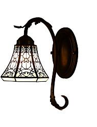 lâmpada de parede de Tiffany com 1 luzes