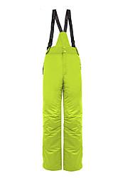 Abbigliamento da neve Pantalone/Sovrapantaloni Per uomo Abbigliamento invernale Cotone / Tessuto sintetico Tinta unita Vestiti invernali