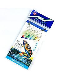 Per la pesca-5 pc Colori casuali Metallo / Acciaio al carbonio-hongyang Pesca dilettantistica