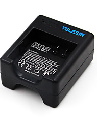 cheap -TELESIN Dual Port USB Battery Charger For Xiaomi Yi 4K Sport Action Camera 2