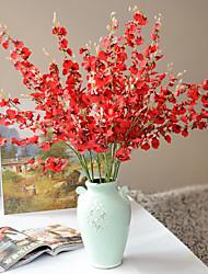 1 Une succursale Polyester Plastique Autres Arbre de Noël Fleurs artificielles 108(42.5'')