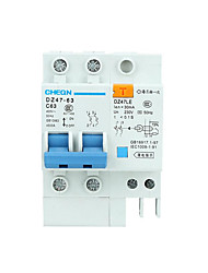 Circuit Breaker Household Environmental Protection Energy Saving Electric Leakage Protection Switch Dz47
