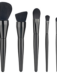 Hot 5Pcs Pro Makeup Blush Eyeshadow Blending Set Concealer Cosmetic MakeUp Brushes Tool Eyeliner Lip Brushes