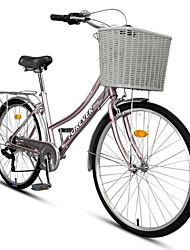 billige -komfort cykler Cykling 7 Trin 26 tommer (ca. 66cm) / 700CC SHIMANO RS-36-7 Centertrukket caliper bremse Ikke-støddæmpende Ikke-støddæmpende Normal Aluminiumlegering