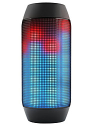 Bluetooth altoparlanti bluetooth senza fili All'aperto Portatile mic Bult-in Supporto memory card Super Bass Luce LED