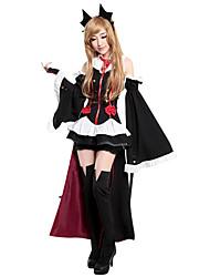abordables -Zombie Costume de Cosplay Costume de Soirée Femme Noël Halloween Carnaval Le jour des morts Fête / Célébration Déguisement d'Halloween