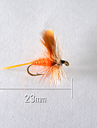 "1pcs Hard Bait Orange 5 g/1/6 oz. Ounce,23 mm/1"" inch,Soft Plastic Bait Casting"