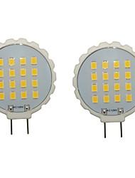 billige -2pcs 300-350lm G8 LED-lamper med G-sokkel T 16 LED Perler SMD 2835 Vandtæt Dekorativ Varm hvid Kold hvid 110-130V 220-240V