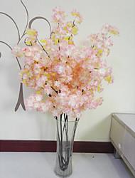1 1 Une succursale Polyester / Plastique Autres Arbre de Noël Fleurs artificielles 41.3inch/105cm
