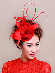 Feather Net Fascinators Headpiece