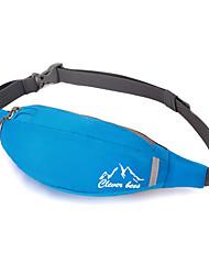 cheap -Waist Bag/Waistpack Belt Pouch/Belt Bag Chest Bag for Climbing Camping & Hiking Traveling Sports BagWaterproof Wearable Lightweight