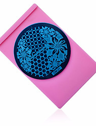 cheap -Nail Art Plate Holder Stamp Image Plate Case Stand Tray Stamping Template Polish Print Stencil Nail Tools
