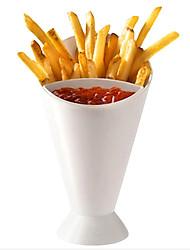 Недорогие -снэк конуса стенд держатель для погружения фри чипсы канапе соус овощи посуды инструмент кухня картофель