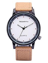 levne -REBIRTH Pánské Křemenný Náramkové hodinky / Žhavá sleva PU Kapela Na běžné nošení Módní Černá Modrá Khaki