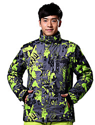 cheap -Men's Ski Jacket Thermal / Warm, Windproof Ski / Snowboard / Winter Sports Cotton, Polyester Winter Jacket Ski Wear