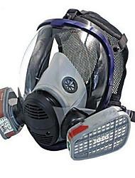 abordables -porter des masques en silicone peinture chimique anti-poussière masques formaldéhyde décoration pleine couverture