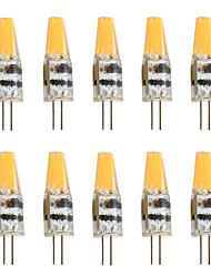 2W G4 LED Bi-pin Lights T 1 COB 200-250 lm Warm White Cold White K Decorative AC 12 V