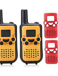 cheap -T899BR Walkie Talkie Handheld VOX LCD Display Scan Monitoring 3KM-5KM 3KM-5KM 8 0.5W Walkie Talkie Two Way Radio