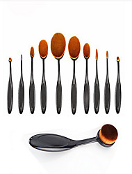 cheap -11pcs Makeup Brushes Professional Makeup Brush Set / Blush Brush / Eyeshadow Brush Synthetic Hair / Horse / Artificial Fibre Brush