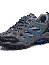 abordables -Mujer-Plataforma-Confort-Zapatillas de deporte-Deporte-Tul-Azul Negro Rosa Gris