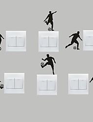 Sports Stickers muraux Stickers avion Stickers muraux décoratifs / Stickers d'interrupteurs,PVC Matériel Amovible Décoration d'intérieur