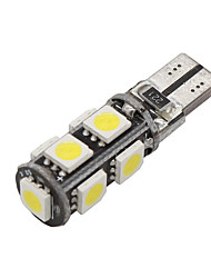 cheap -10x Canbus Wedge T10 White 192 168 194 W5W 9 5050 SMD LED Light Lamp Bulb Error Free 12V