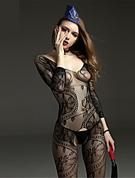 cheap -SKLV Women Nylon Cut Out Sheer Chemises & Gowns Lingerie/Ultra Sexy/Teddy Nightwear