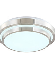 cheap -15 Flush Mount ,  Modern/Contemporary Electroplated Feature for LED Acrylic Living Room Bedroom Dining Room