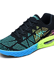 Running Shoes Young Fashion Men's Flywire Breathable Fabric  for Air Cushion Cushioning Soles for Outdoor Sports