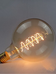 G125 wire around 60W bulb edison bulbs Bar Pearl tungsten bulb Edison light bulb retro decoration