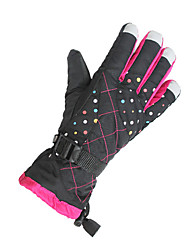 cheap -Bike Gloves / Cycling Gloves Ski Gloves Women's Keep Warm Windproof Canvas Ski / Snowboard