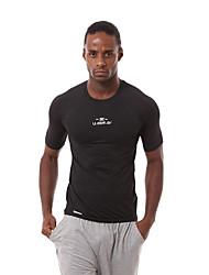 Per uomo T-shirt da corsa Manica corta Asciugatura rapida Traspirante Comodo T-shirt Felpa Set di vestiti Top per Esercizi di fitness
