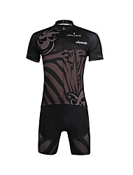cheap -ILPALADINO Men's Short Sleeve Cycling Jersey with Shorts Bike Jersey / Clothing Suits, Quick Dry, Ultraviolet Resistant, Breathable Lycra