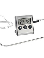 Kitchen Food Thermometer Timer Probe Food Thermometer Barbecue