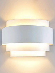 cheap -Lightinthebox Modern / Contemporary Flush Mount wall Lights Pathway Metal Wall Light 110-120V / 220-240V 60W