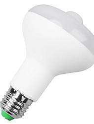 billiga -1st 9 W 900 lm B22 / E26 / E27 Smart LED-lampa 9 LED-pärlor SMD 5730 Sensor / Infraröd sensor Varmvit 85-265 V / 1 st / RoHs