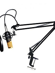 cheap -BM800 Condenser Microphone Cardioid Pro Audio Studio Vocal Recording Mic Long Metal Shock Mount 4 Pieces a Set