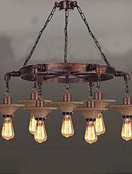 cheap -American Country Droplight industrial Hemp Rope Wind Guest Cafe Droplight