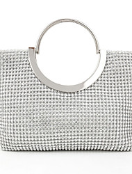 cheap -Women Bags Other Leather Type Evening Bag Imitation Pearl Crystal/ Rhinestone for Wedding Event/Party Casual Formal Office & Career