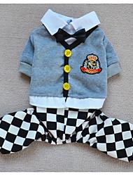 Cani Pantalone / Imbracature Nero / Rosa Abbigliamento per cani Inverno / Primavera/Autunno A quadri / Britsh In lattice Other