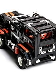 Недорогие -Игрушки на пульте управления Конструкторы Военные блоки _ Автомобиль Soldier совместимый Legoing Пульт управления Электрический Мальчики Девочки Игрушки Подарок / Обучающая игрушка