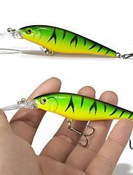 """preiswerte -10 Stück Angelköder Harte Fischköder kleiner Fisch Verschiedene Farben g/Unze,110 mm/4-1/3"""" Zoll,Fester Kunststoff Edelstahl/Eisen"""