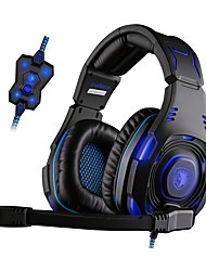 SADES SA-907 Stereo Gaming Headphone Headset 7.1 Surrounding Sound for WCG Computer Game Bass with Microphone