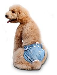 abordables -Perro Pantalones Ropa para Perro Casual/Diario Sólido Rojo Azul Rosa Disfraz Para mascotas