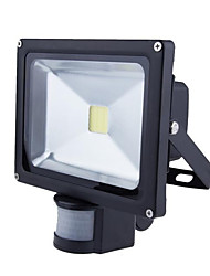 cheap -HRY LED Floodlight Sensor Waterproof Outdoor Lighting Warm White Cold White AC 85-265V