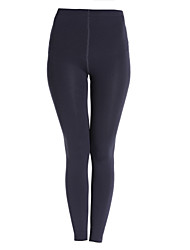 cheap -Women's Solid Black/Wine/Grey Bodycon Slimming Stretchy Leggings