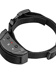 Dog Bark Collar Adjustable / Retractable Anti Bark Electronic/Electric Shock/Vibration Solid Nylon