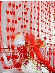 valentine polyester bryllup dekorationer rustik tema foråret elegant stil